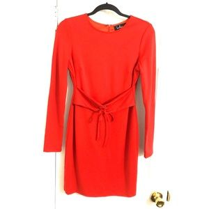 Lulu's Dresses - Lulus Hearts Aflame Red Long Sleeve Bodycon Dress